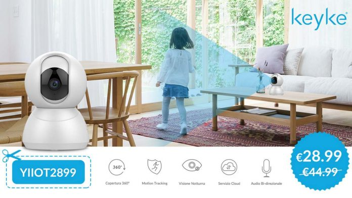 YI Keyke Smart Dome Camera cupom amazon