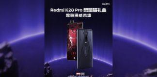 Redmi K20 Pro Marvel Hero Edição Limitada