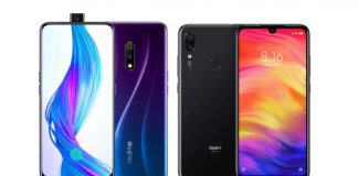 redmi note 7 realme x