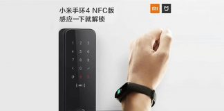 xiaomi mi band 4 mijia smart door lock