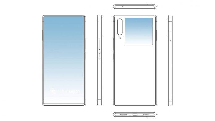 Licencia de smartphone de doble pantalla zte
