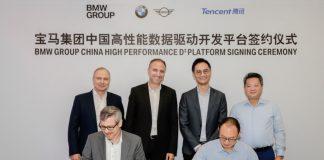 BMW e Tencent