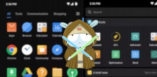 how to enable dark theme xiaomi miui 10