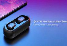 TWS QCY T1C Mini Auriculares
