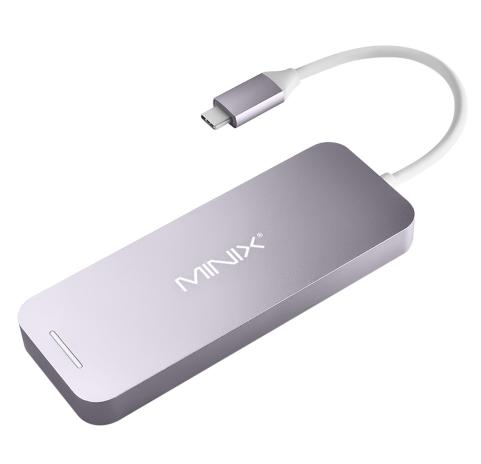 MINIX NEO C SSD USB-C Multiport Storage HUB With 240 GB SSD  – Geekbuying