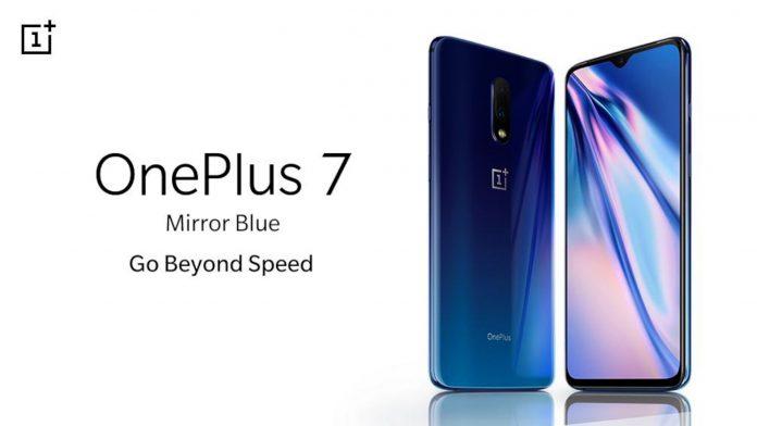 OnePlus 7 Espelho Azul