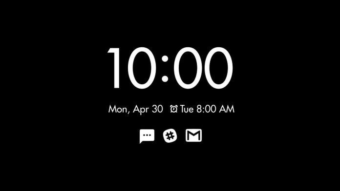 oneplus sempre em pixel de exibição