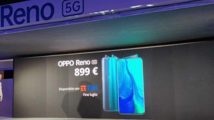 openo reno 5g إيطاليا الرسمية