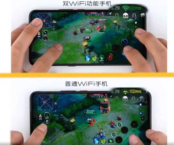 aceleración dual wi-fi en vivo