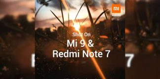 xiaomi mi 9 redmi note 7 the fly