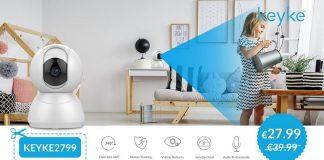 YI Keyke Smart Dome Camera cupom amazon