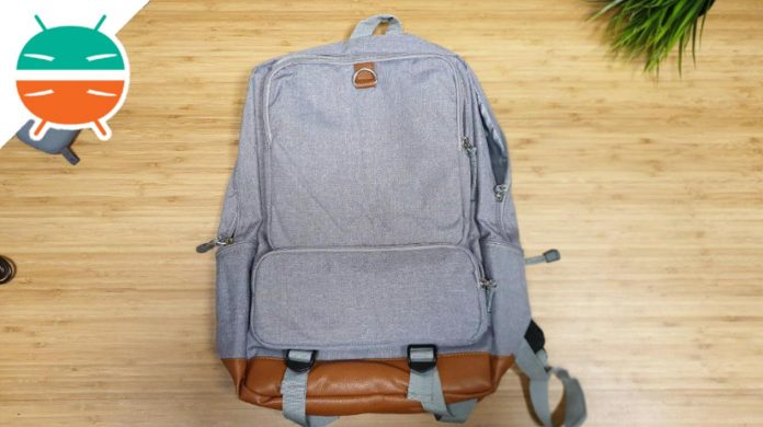 recensione backpack USB