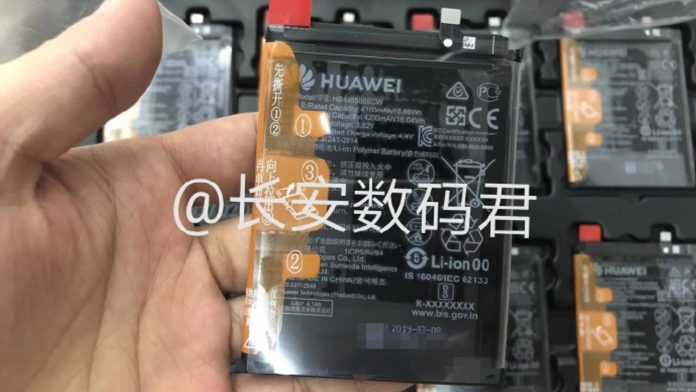 huawei mate 30 batteria