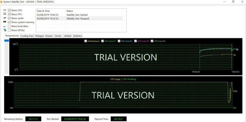 test porównawczy Jumper EZpad 7S