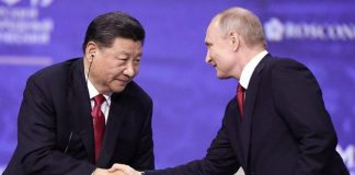 Xi Jinping Wladimir Putin