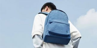 xiaomi 90 aponta mochila universitária para jovens
