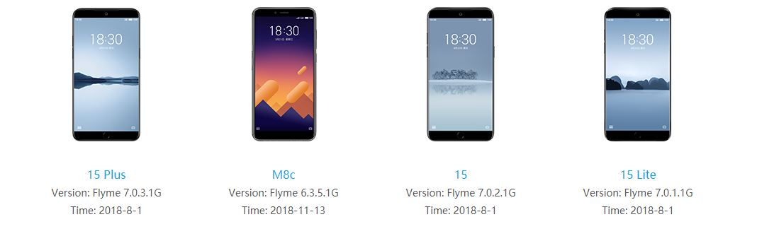 meizu 15 global