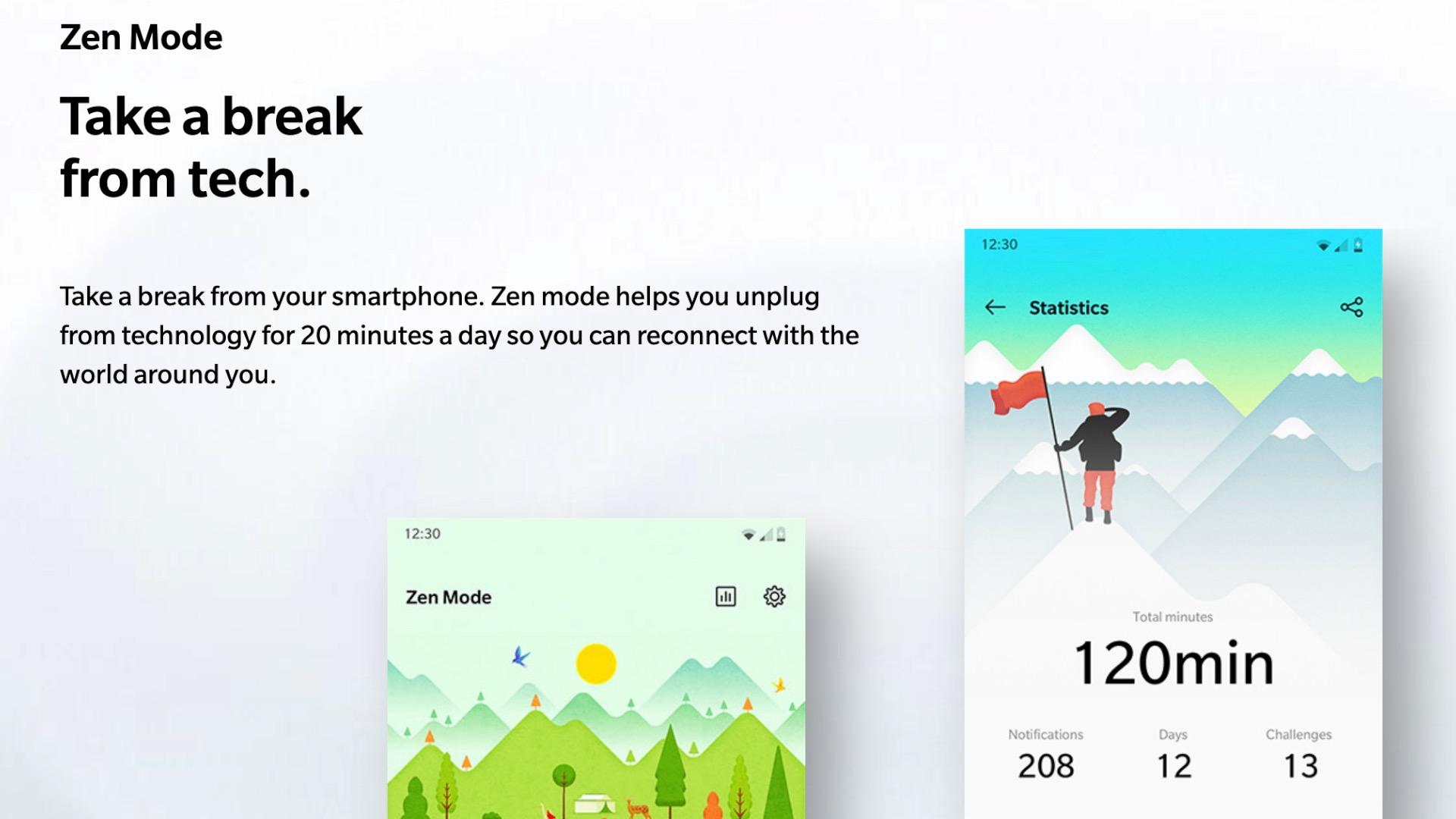 Zen Modus Oneplus