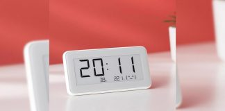 xiaomi mijia sensore umidità temperatura orologio