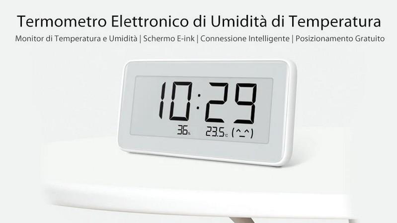 sensor de humedad de temperatura del reloj xiaomi mijia