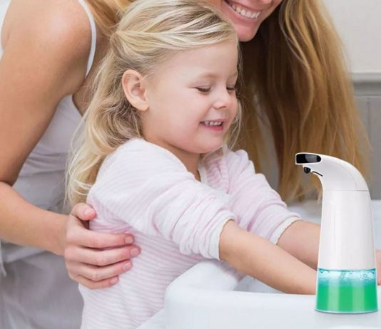 xiaomi youpin dispenser sapone infrarossi