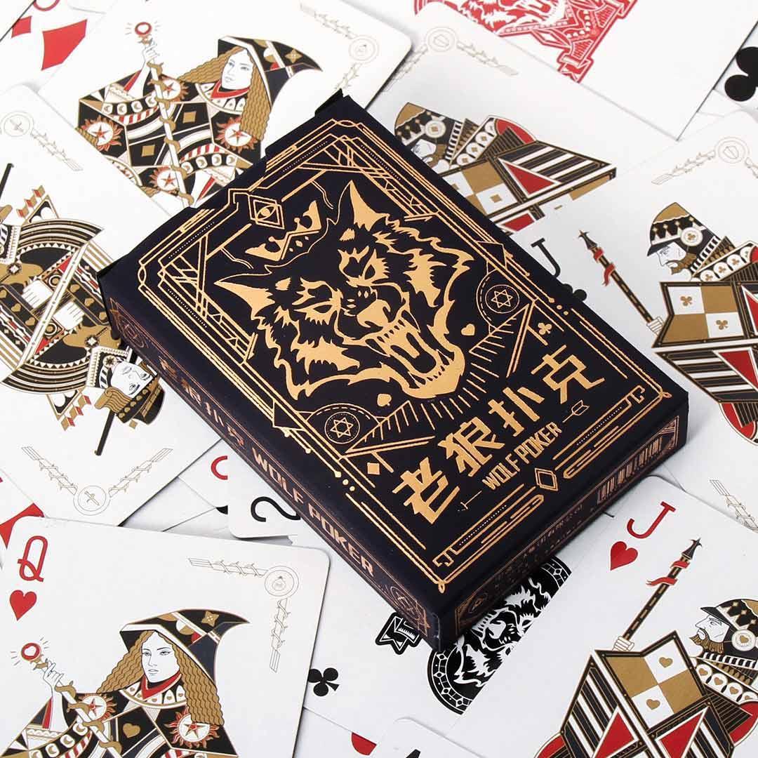 xiaomi youpin الذئب لعبة البوكر بطاقات xiaomi