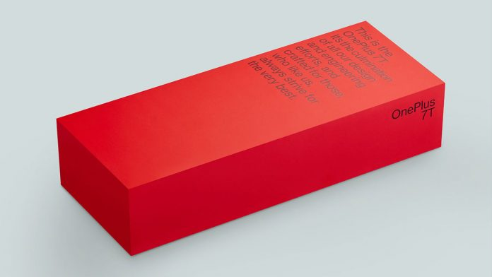 oneplus 7t-Verpackung