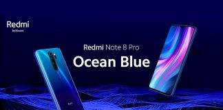 redmi notes 8 pro ozeanblau
