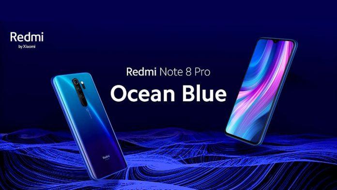 redmi note 8 pro ocean blu
