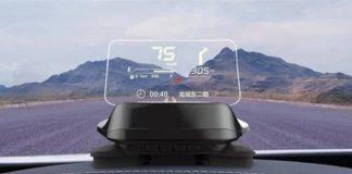 xiaomi car robot head-up display