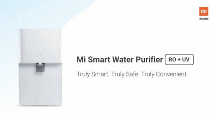 xiaomi mi purificador de água inteligente