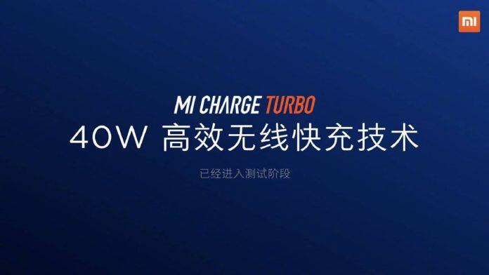 xiaomi mi charge turbo 40w