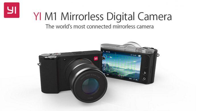 fotocamera yi mirrorles m1 amazon back to school 2019