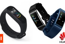 Huawei e Xiaomi para wearable