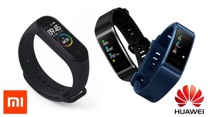 Huawei e Xiaomi to wearable