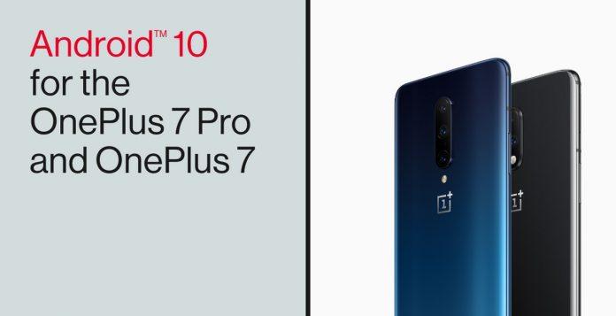 oneplus 7 oneplus 7 pro android 10