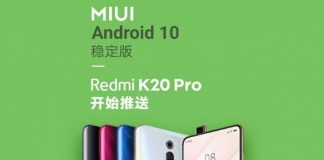 Redmi K20 Pro для Android 10