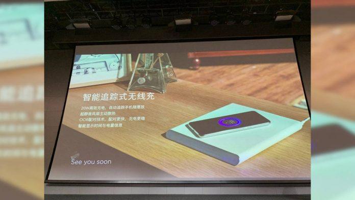 xiaomi base ricarica wireless 20w