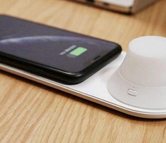 Base di ricarica wireless Xiaomi Yeelight e luce LED magnetica