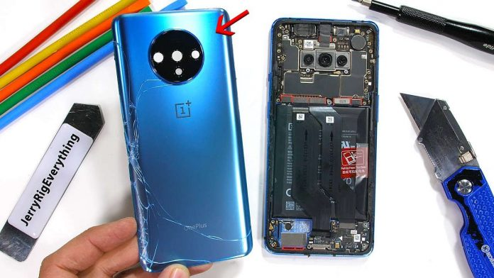 oneplus 7t teardown