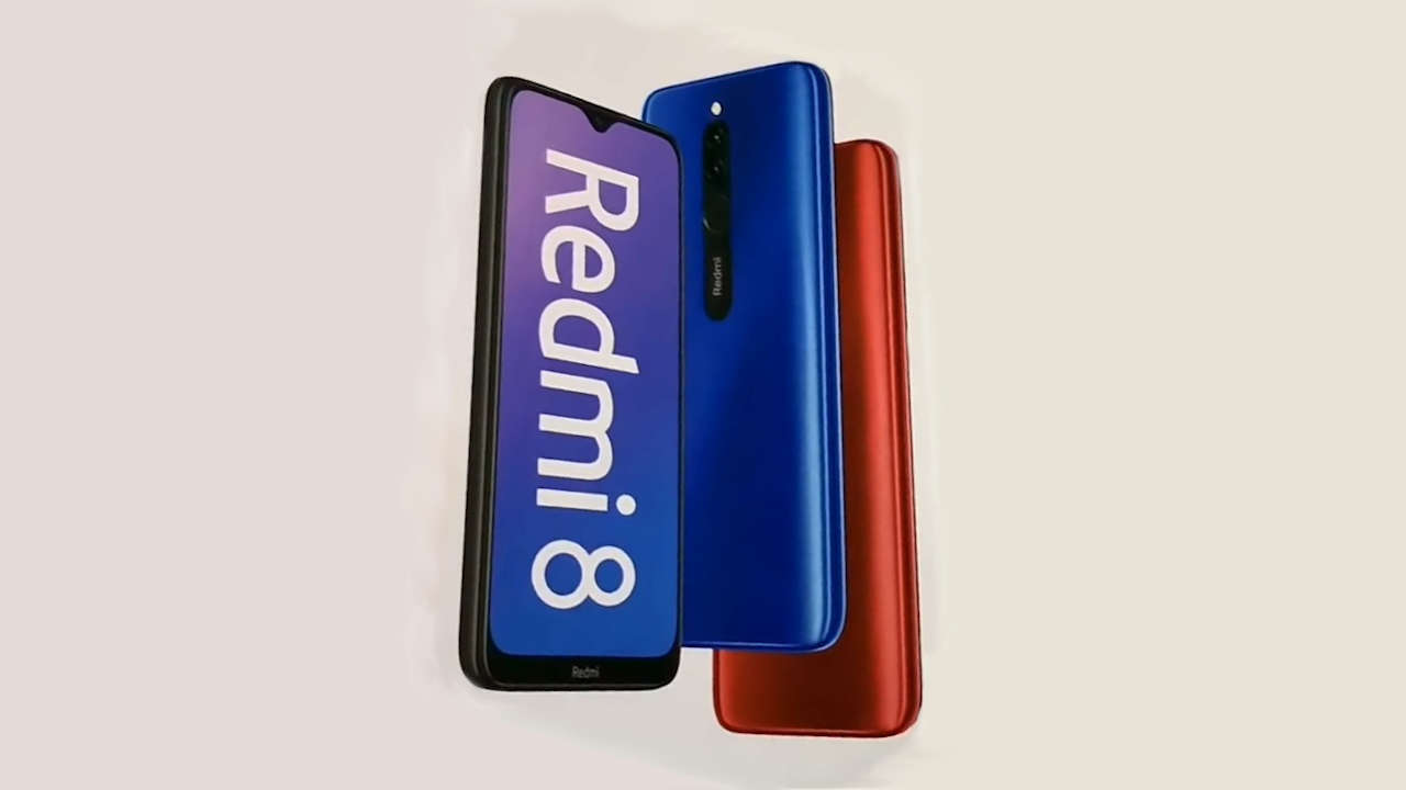 Xiaomi Redmi 8 3/32 GB Black – Gearbest