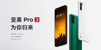 Porca Smartisan Pro 3