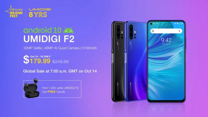 umidigi-f2-promozione