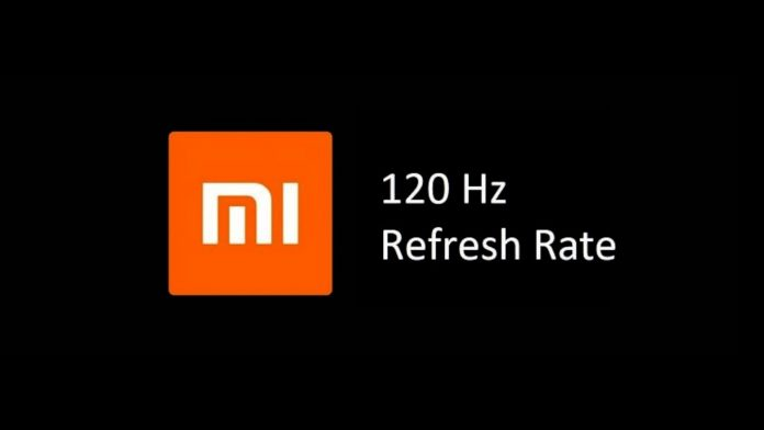xiaomi display 120hz