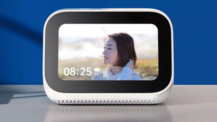 xiaomi smart speaker display touch