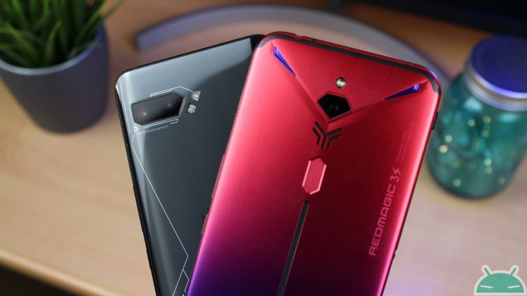 Teléfono ASUS ROG 2 vs Nubia Red Magic 3S