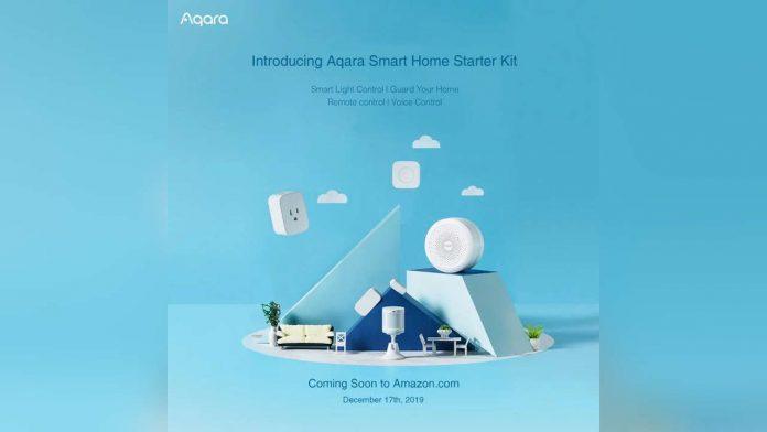 aqara smart home kit amazon