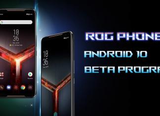 asus rog telefoon 2 android 10 beta