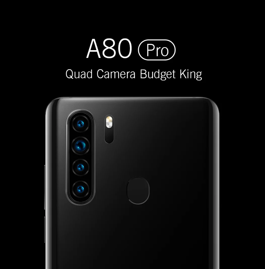 Blackview A80 pro render