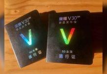 invitación de honor v30 pro 5g